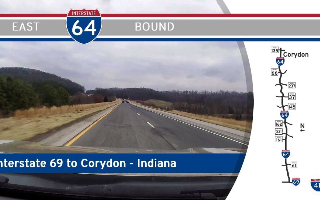 Interstate 64 – Interstate 69 to Corydon – Indiana