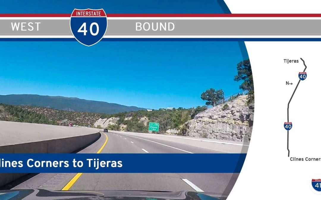Interstate 40 – Clines Corners to Tijeras – New Mexico