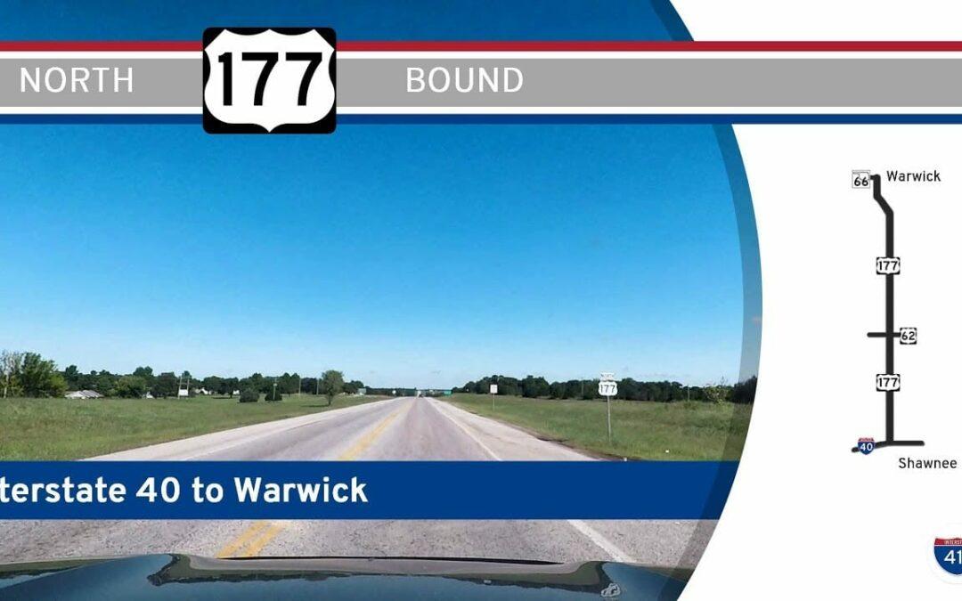 U.S. Highway 177 – Interstate 40 to Warwick – Oklahoma