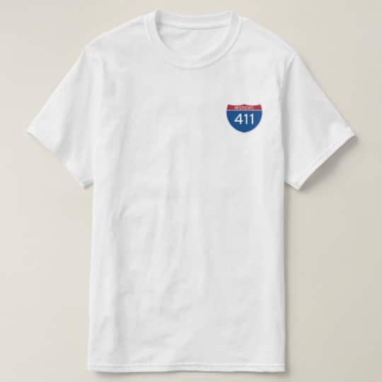 Drive America's Highways – Blue T-Shirt
