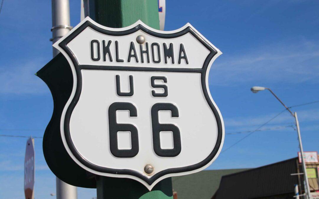 Oklahoma Route 66 Shield