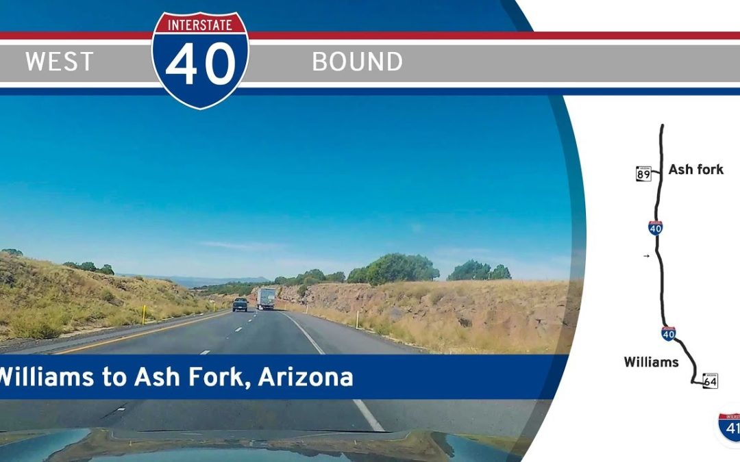 Interstate 40 – Williams to Ash Fork – Arizona