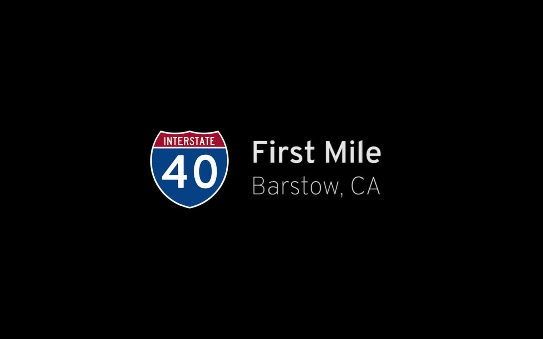 Short: Interstate 40 EB – First Mile – Barstow, CA