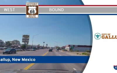 Historic Route 66 in Gallup – New Mexico