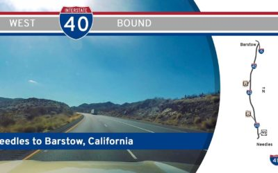 Interstate 40 – Needles to Barstow – California