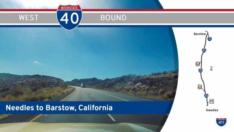 Interstate 40 - Needles to Barstow - California
