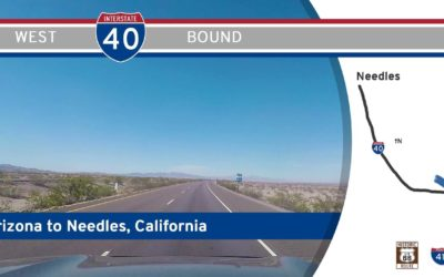 Interstate 40 – Arizona to Needles – California