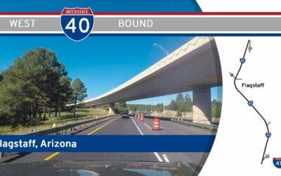Interstate 40 in Flagstaff – Arizona