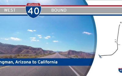 Interstate 40 – Kingman to California – Arizona