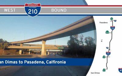Interstate 210 – San Dimas to Pasadena – California