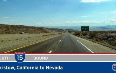 Interstate 15 – Barstow to Nevada – California