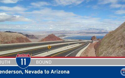 Interstate 11 – Henderson to Arizona