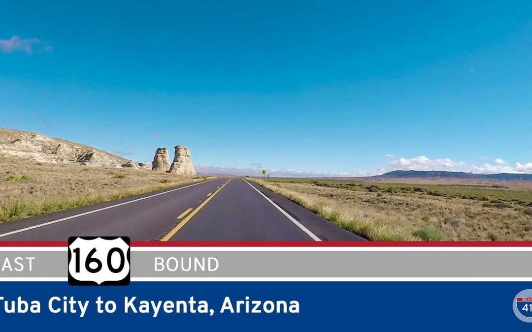 U.S. Highway 160 – Tuba City to Kayenta – Arizona