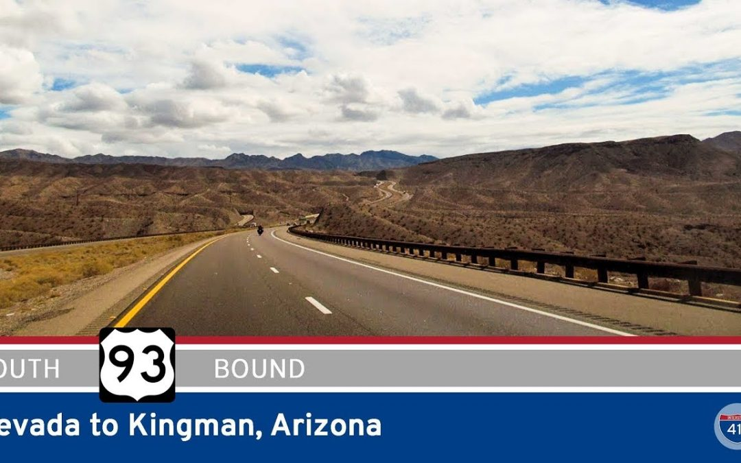 U.S. Highway 93 – Nevada to Kingman – Arizona