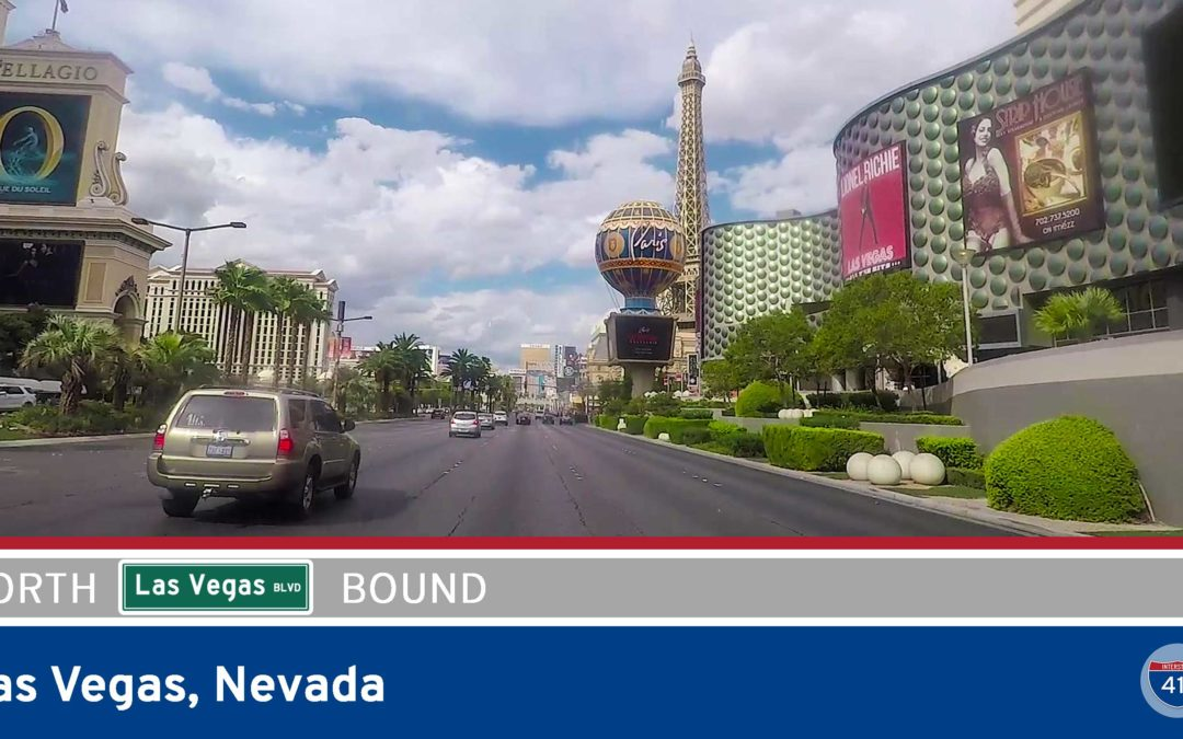 Las Vegas Blvd – Tropicana Blvd to Clark Ave [Las Vegas Strip]
