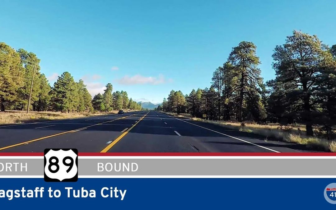 U.S. Highway 89 – Flagstaff to Tuba City (US160) – Arizona