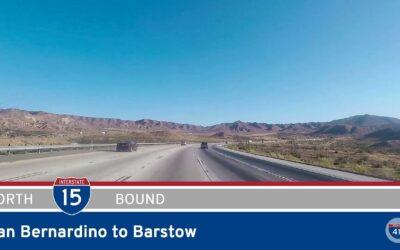 Interstate 15 – San Bernardino to Barstow – California