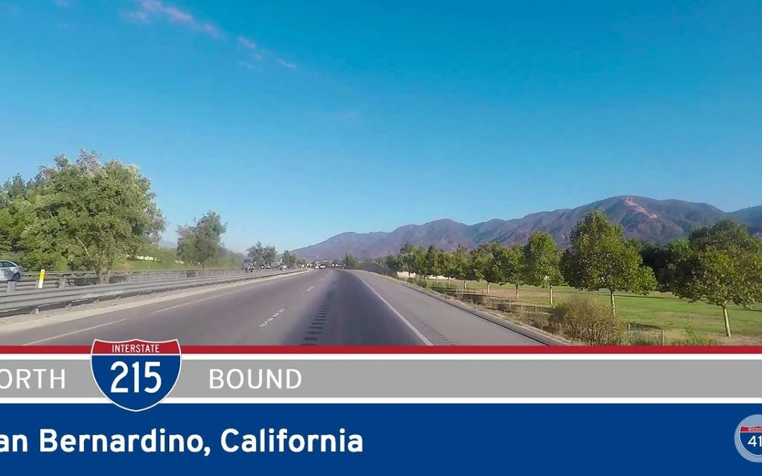 Interstate 215 in San Bernardino – California