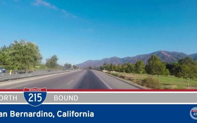 Interstate 215 in San Bernardino – California
