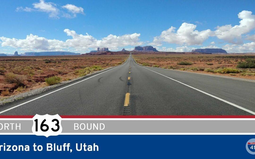 U.S. Highway 163 – Arizona to Bluff – Utah