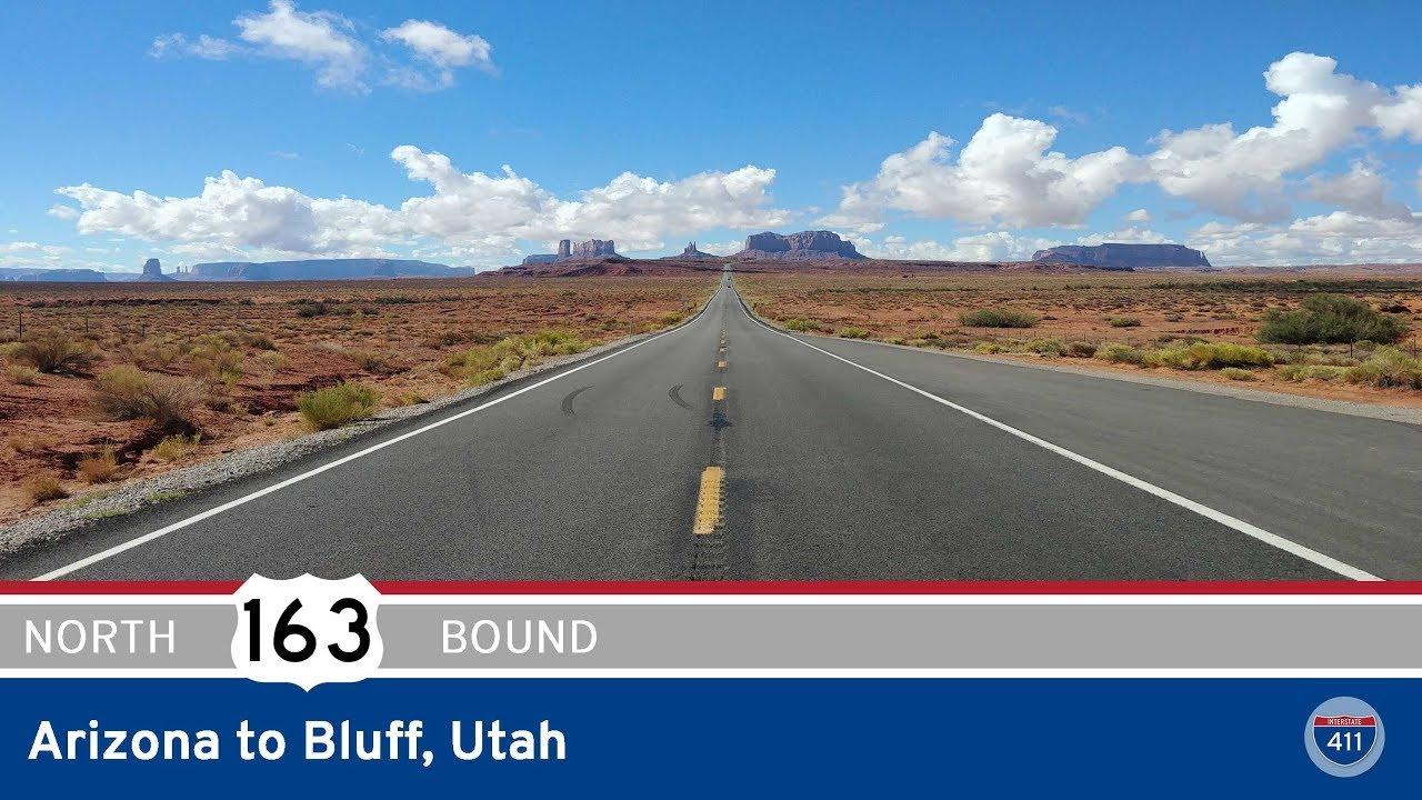 US Highway 163 – Arizona to Bluff – Utah