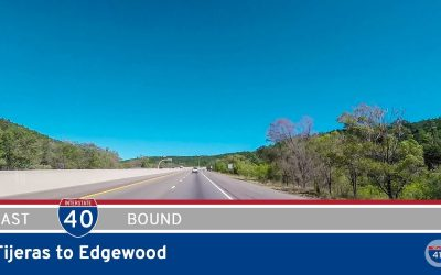 Interstate 40 – Tijeras to Edgewood – New Mexico