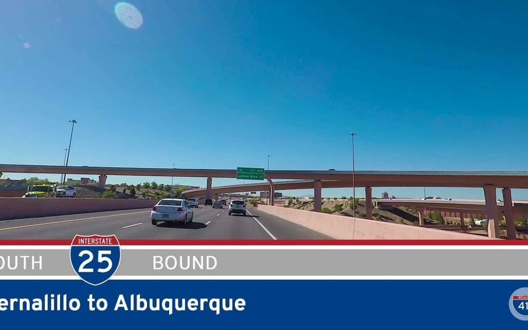 Interstate 25 – Bernalillo to Albuquerque – New Mexico