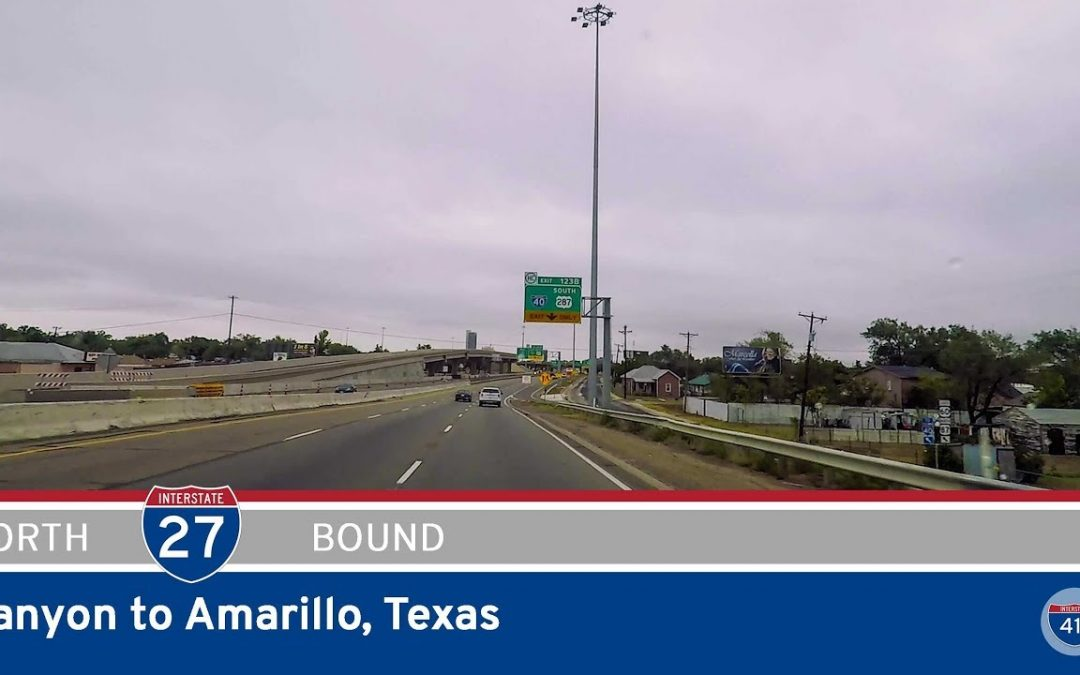 Interstate 27 – Canyon to Amarillo – Texas