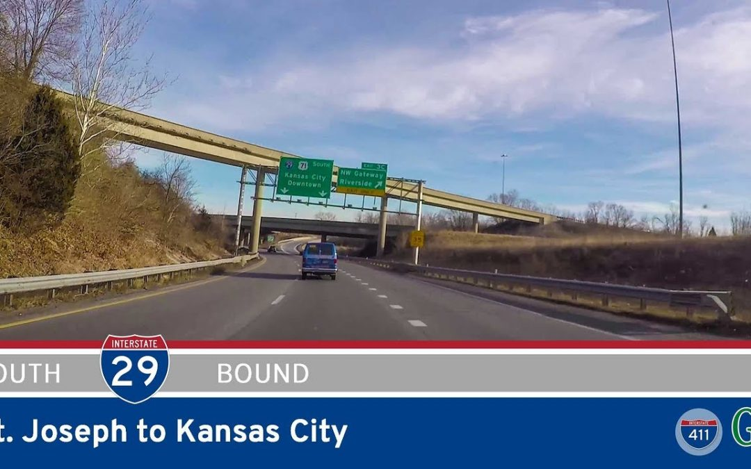 Interstate 29 – St. Joseph to Kansas City – Missouri