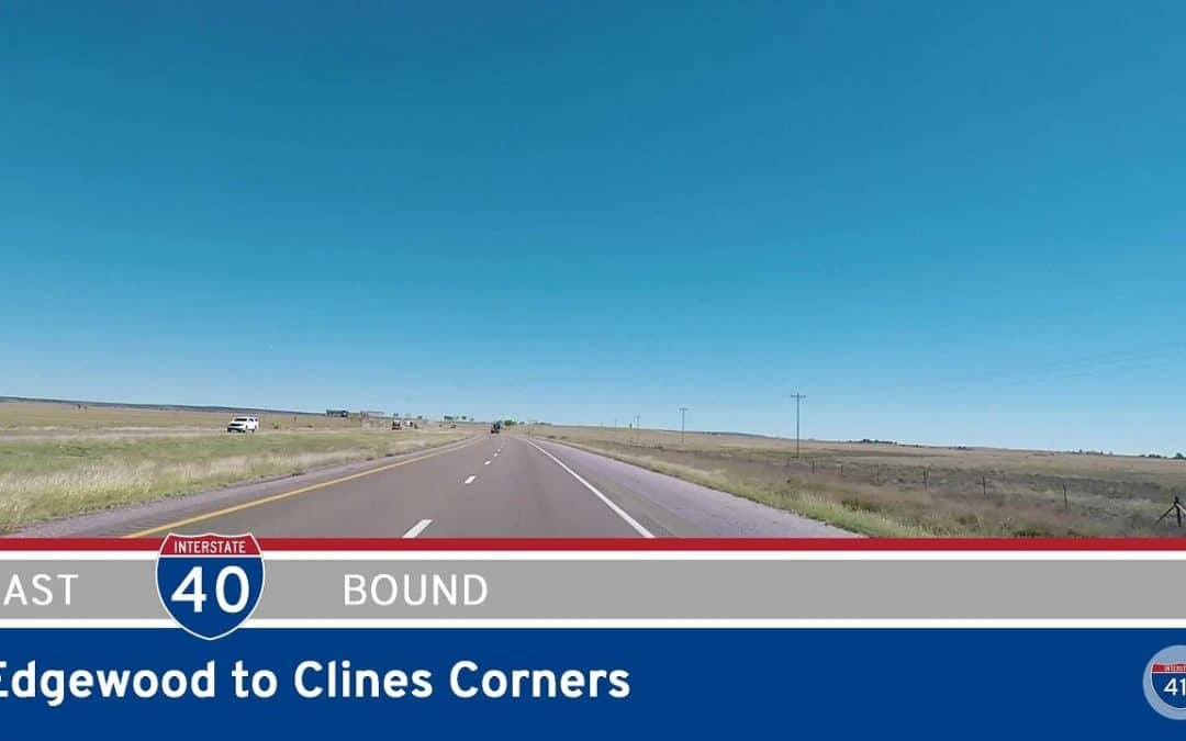 Interstate 40 – Edgewood to Clines Corners – New Mexico