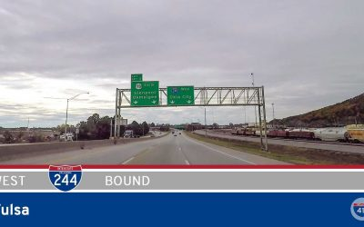 Interstate 244 – Southwest Tulsa – Oklahoma