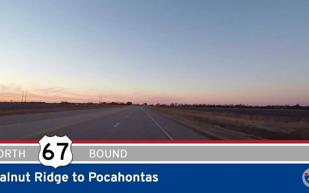 US Highway 67 – Walnut Ridge to Pocahontas – Arkansas