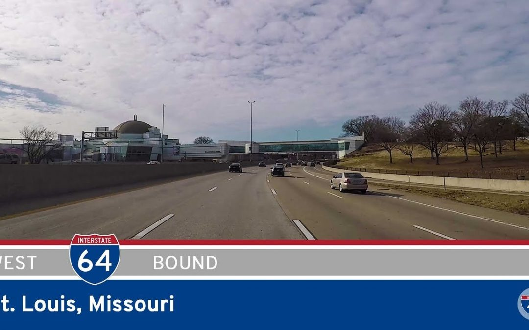 Interstate 64 West in St. Louis – Missouri