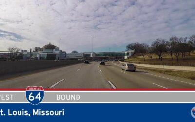 Interstate 64 West in St. Louis – Missouri