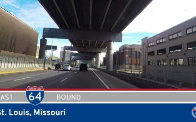 Interstate 64 East in St. Louis – Missouri