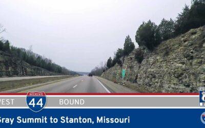Interstate 44 – Gray Summit to Stanton – Missouri