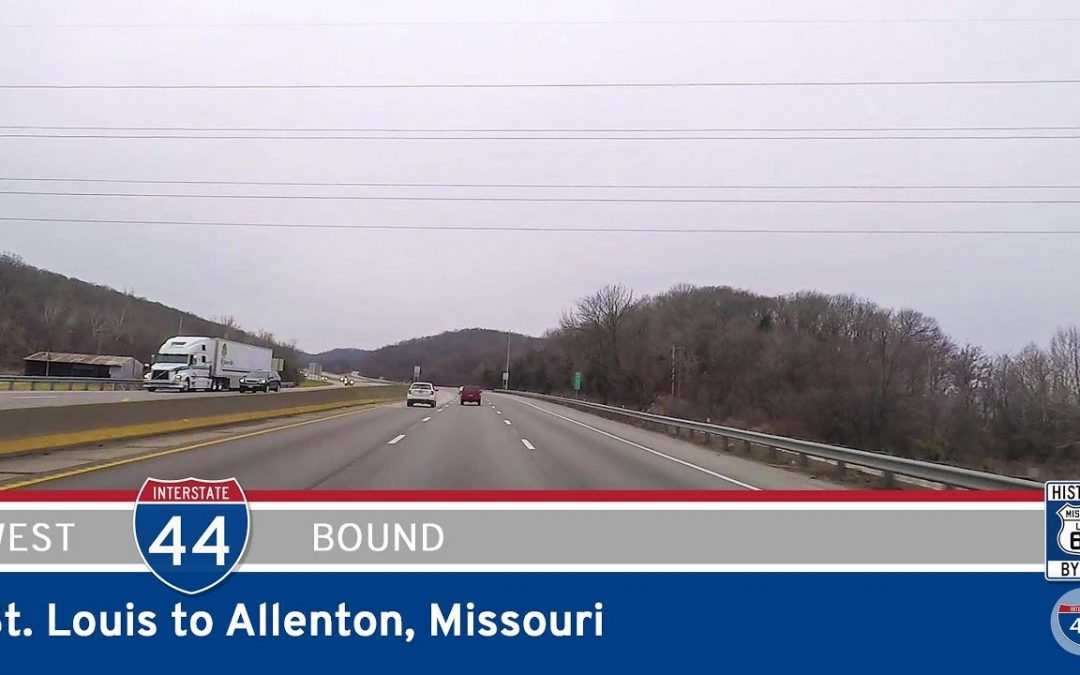 Interstate 44 – St. Louis to Allenton (Six Flags) – Missouri