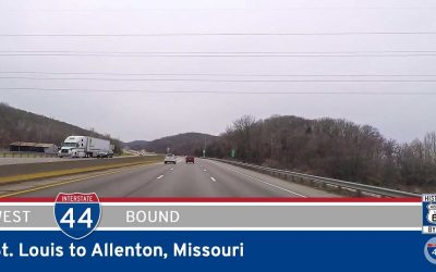 Interstate 44 – St. Louis to Allenton (Six Flags) – Missouri