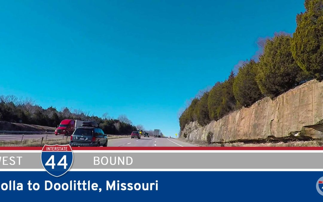 Interstate 44 – Rolla to Doolittle – Missouri