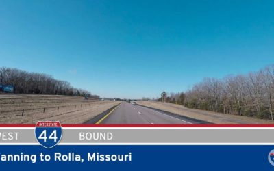 Interstate 44 – Fanning to Rolla – Missouri
