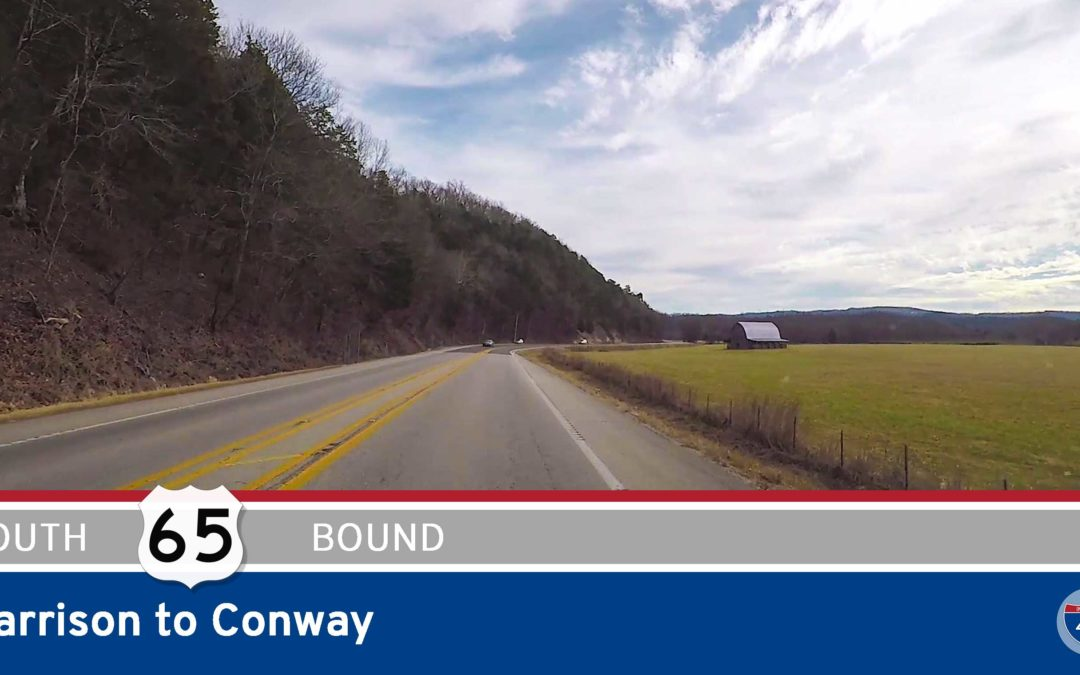 US Highway 65 – Harrison to Conway – Arkansas