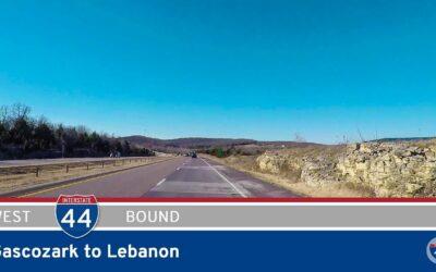 Interstate 44 – Gascozark to Lebanon – Missouri