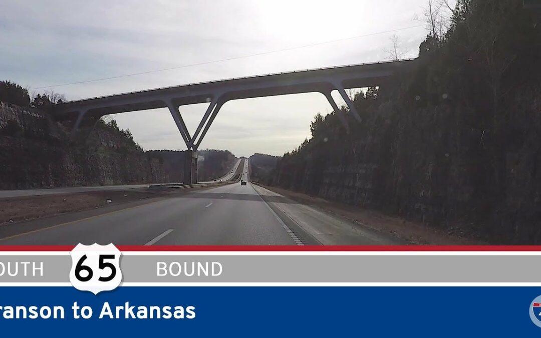 U.S. Highway 65 – Branson to Arkansas – Missouri