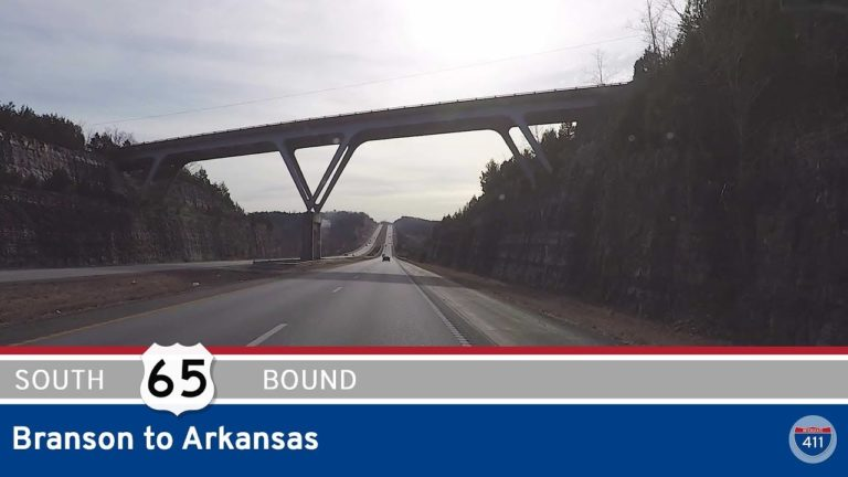 U.S. Highway 65 - Branson to Arkansas - Missouri