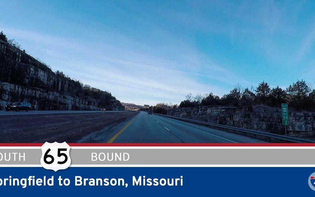 U.S. Highway 65 – Springfield to Branson – Missouri