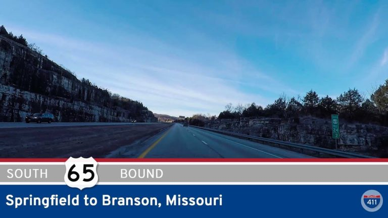 U.S. Highway 65 - Springfield to Branson - Missouri