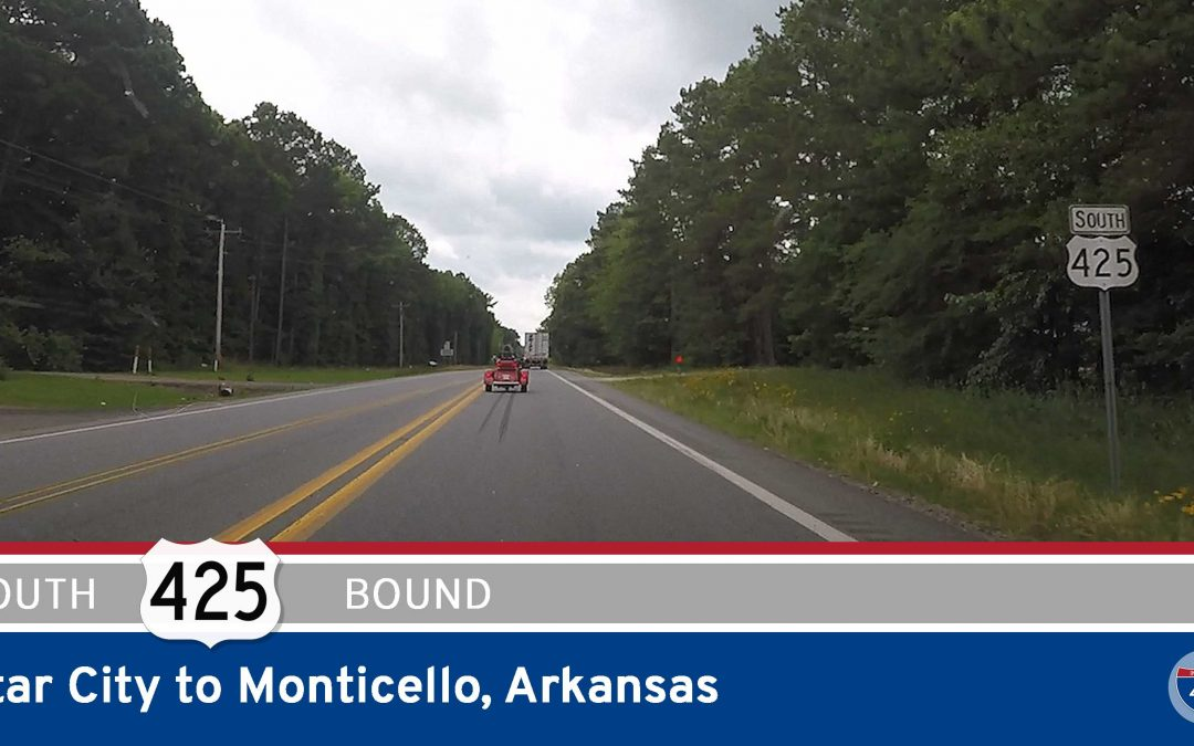 U.S. Highway 425 – Star City to Monticello – Arkansas