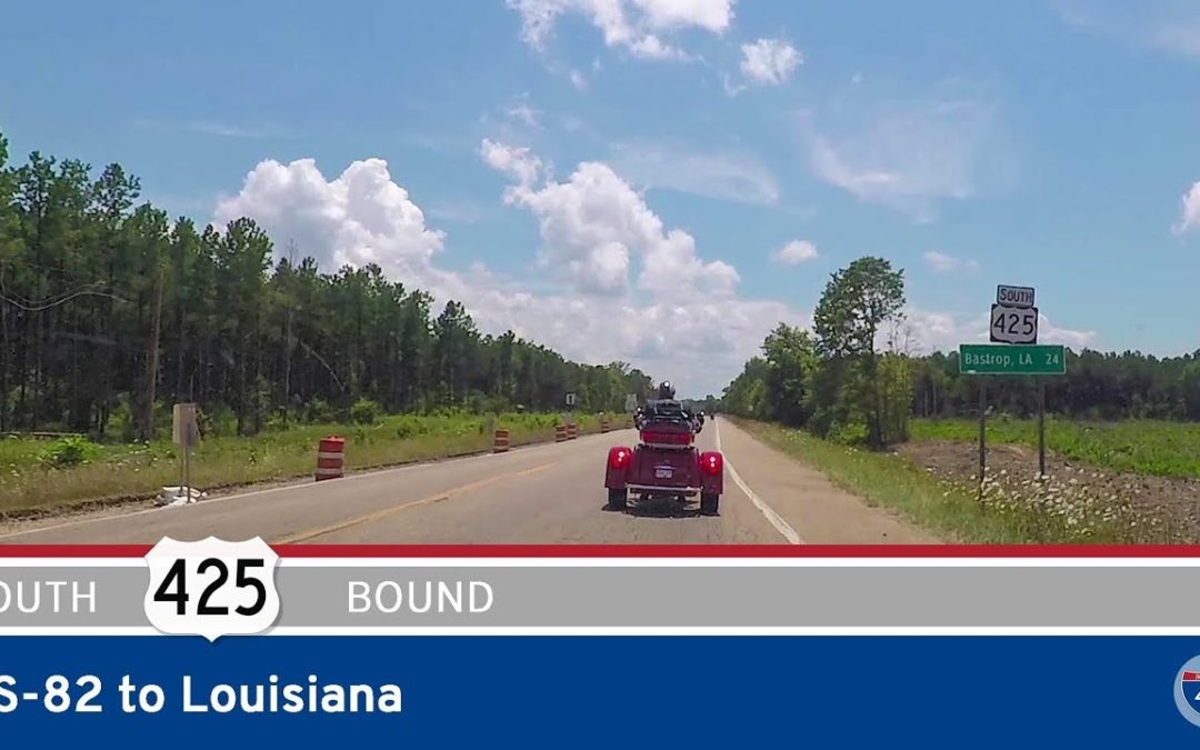 US Highway 425 – US-82 to Louisiana – Arkansas