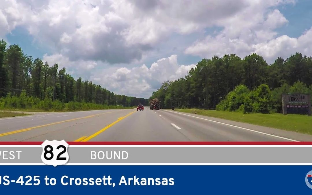 U.S. Highway 82 – US-425 to Crossett – Arkansas