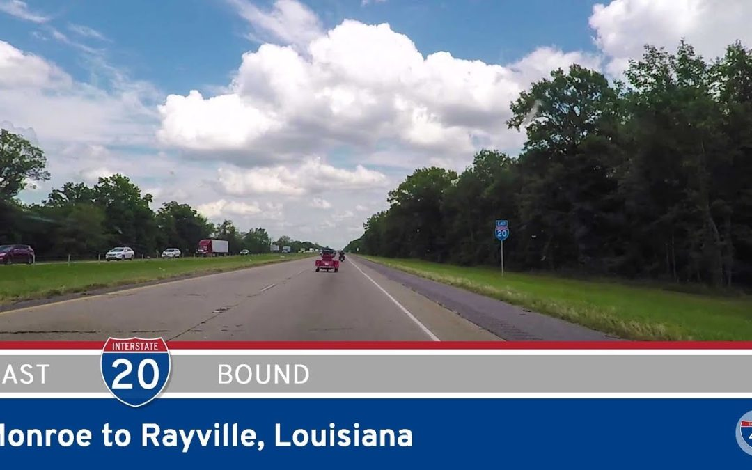 Interstate 20 – Monroe to Rayville – Louisiana